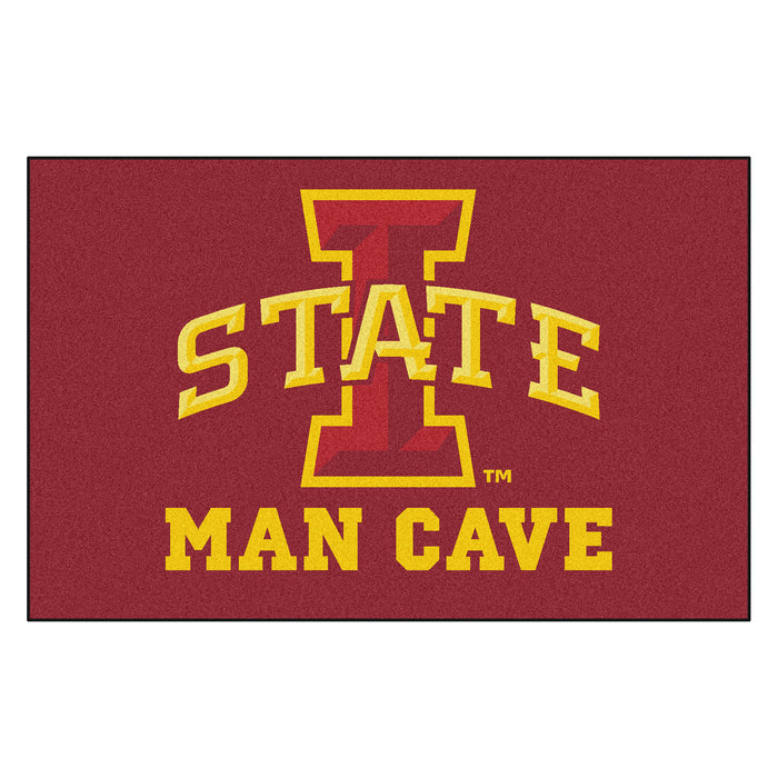 Iowa State Man Cave UltiMat 5'x8' Rug