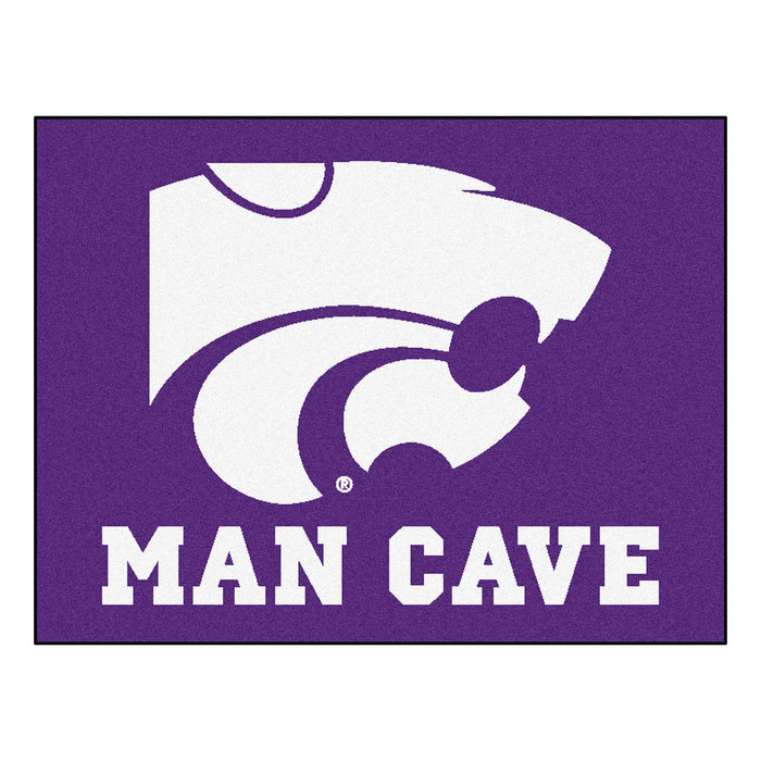 "Kansas State Man Cave All-Star Mat 33.75""x42.5"""