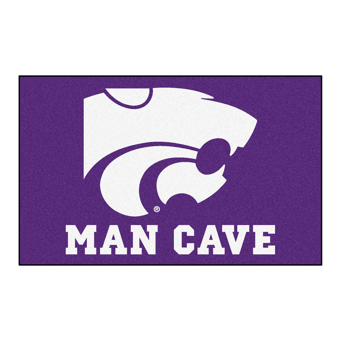 Kansas State Man Cave UltiMat 5'x8' Rug