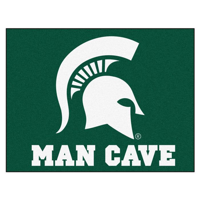 "Michigan State Man Cave All-Star Mat 33.75""x42.5"" - Fan Cave Rugs"
