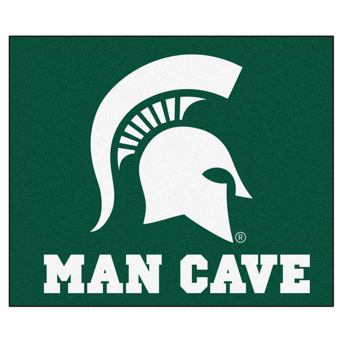 Michigan State Man Cave Tailgater Rug 5'x6' - Fan Cave Rugs