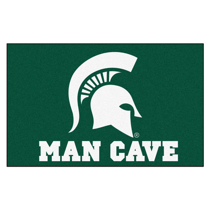 Michigan State Man Cave UltiMat 5'x8' Rug - Fan Cave Rugs
