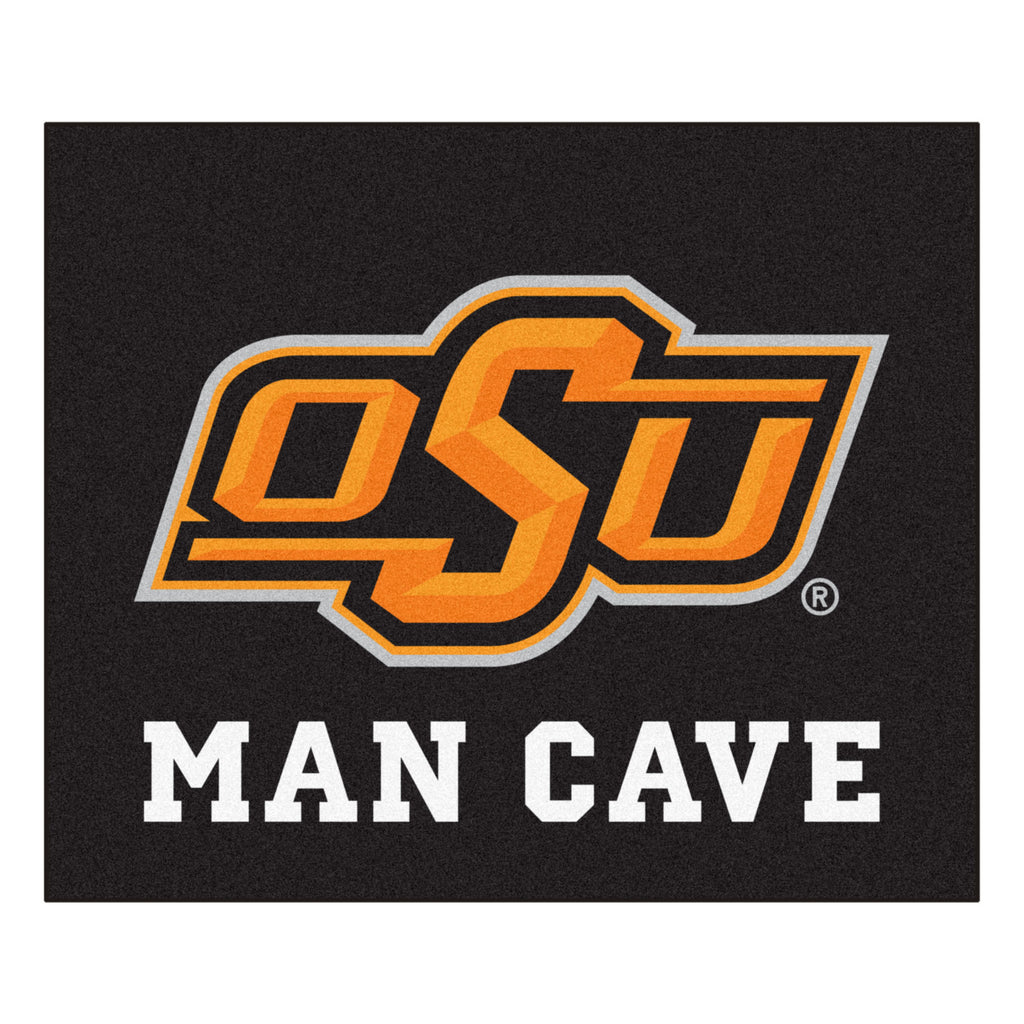 Oklahoma State Man Cave Tailgater Rug 5'x6'