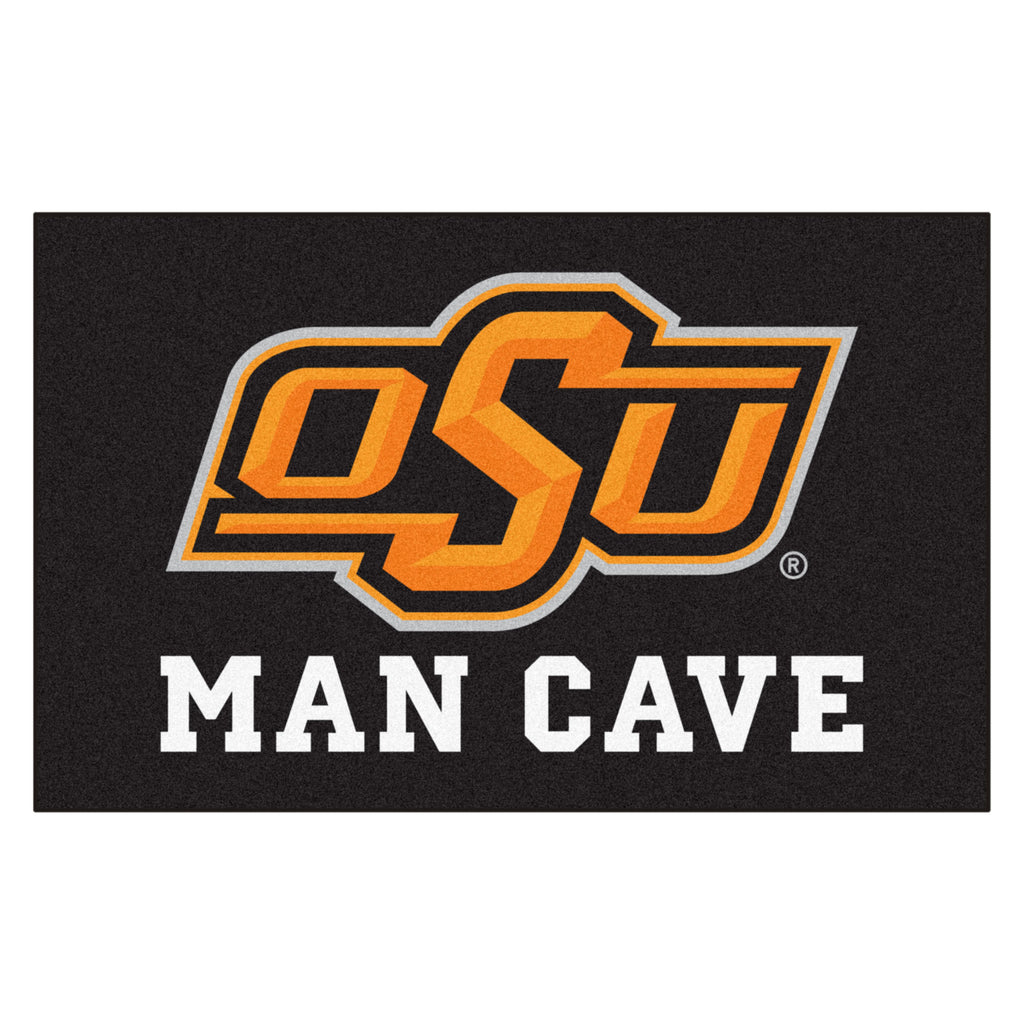 Oklahoma State Man Cave UltiMat 5'x8' Rug