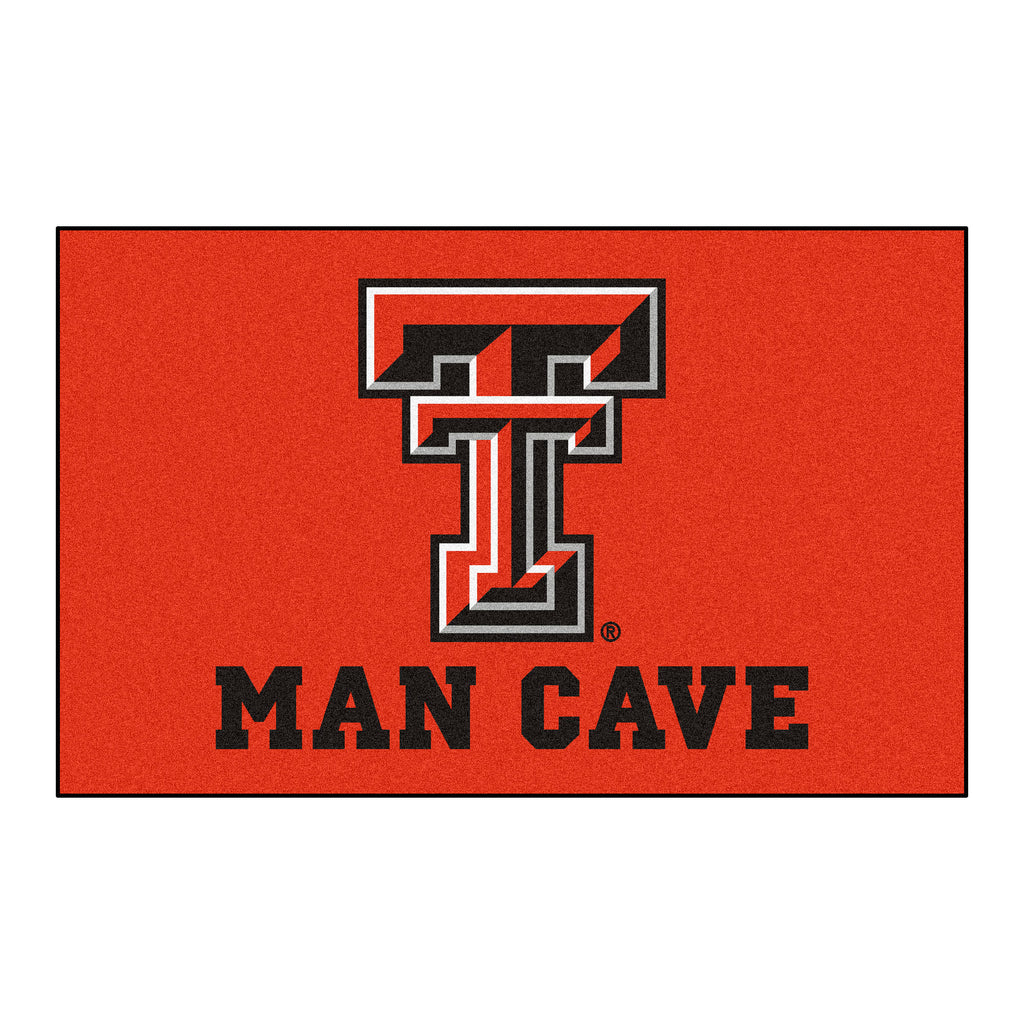 Texas Tech Man Cave UltiMat 5'x8' Rug