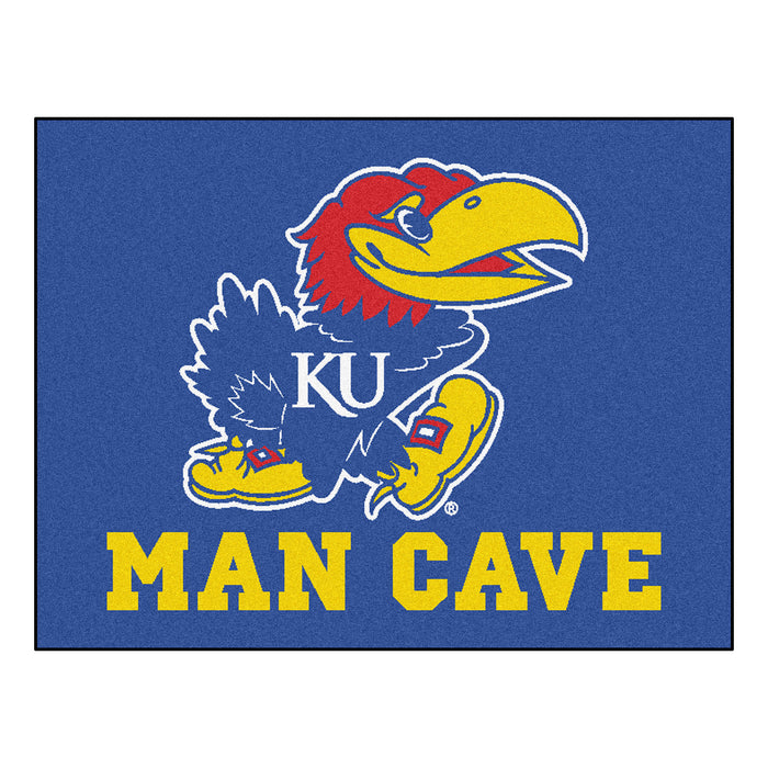 "Kansas Man Cave All-Star Mat 33.75""x42.5"""