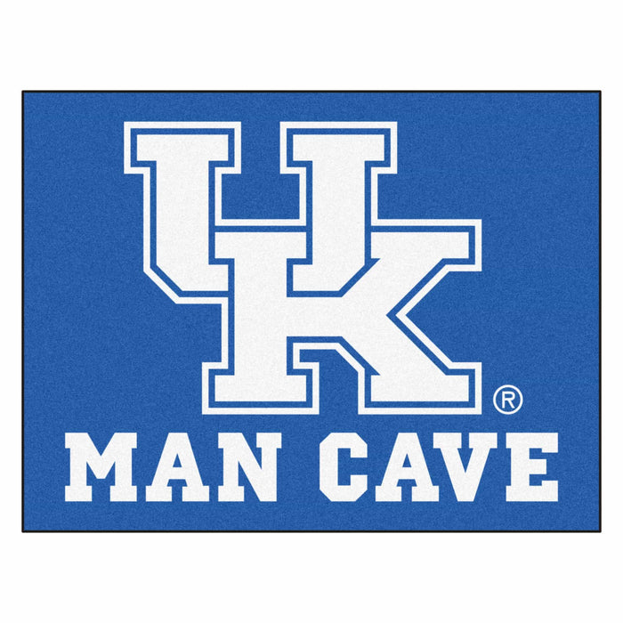 "Kentucky Man Cave All-Star Mat 33.75""x42.5"" - Fan Cave Rugs"
