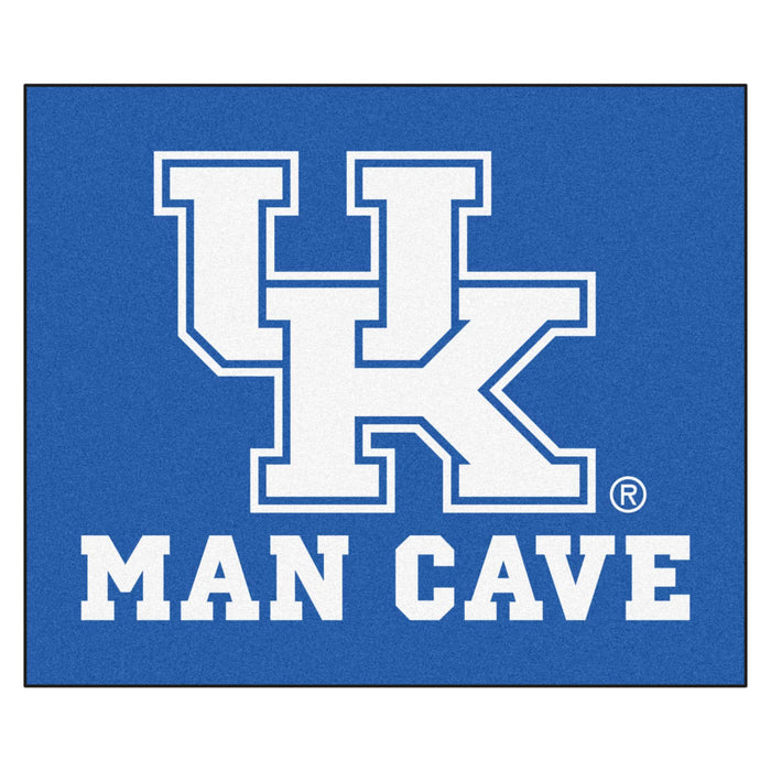 Kentucky Man Cave Tailgater Rug 5'x6' - Fan Cave Rugs