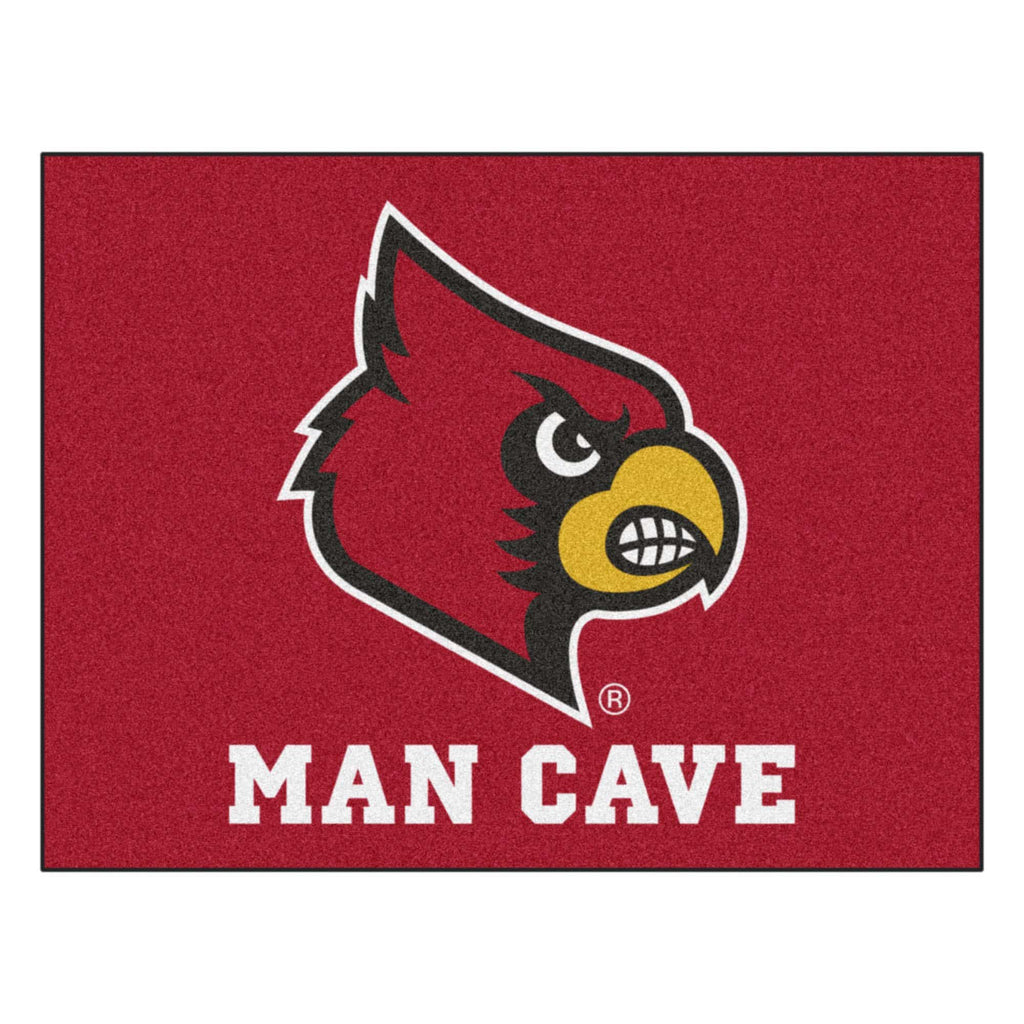 "Louisville Man Cave All-Star Mat 33.75""x42.5"""