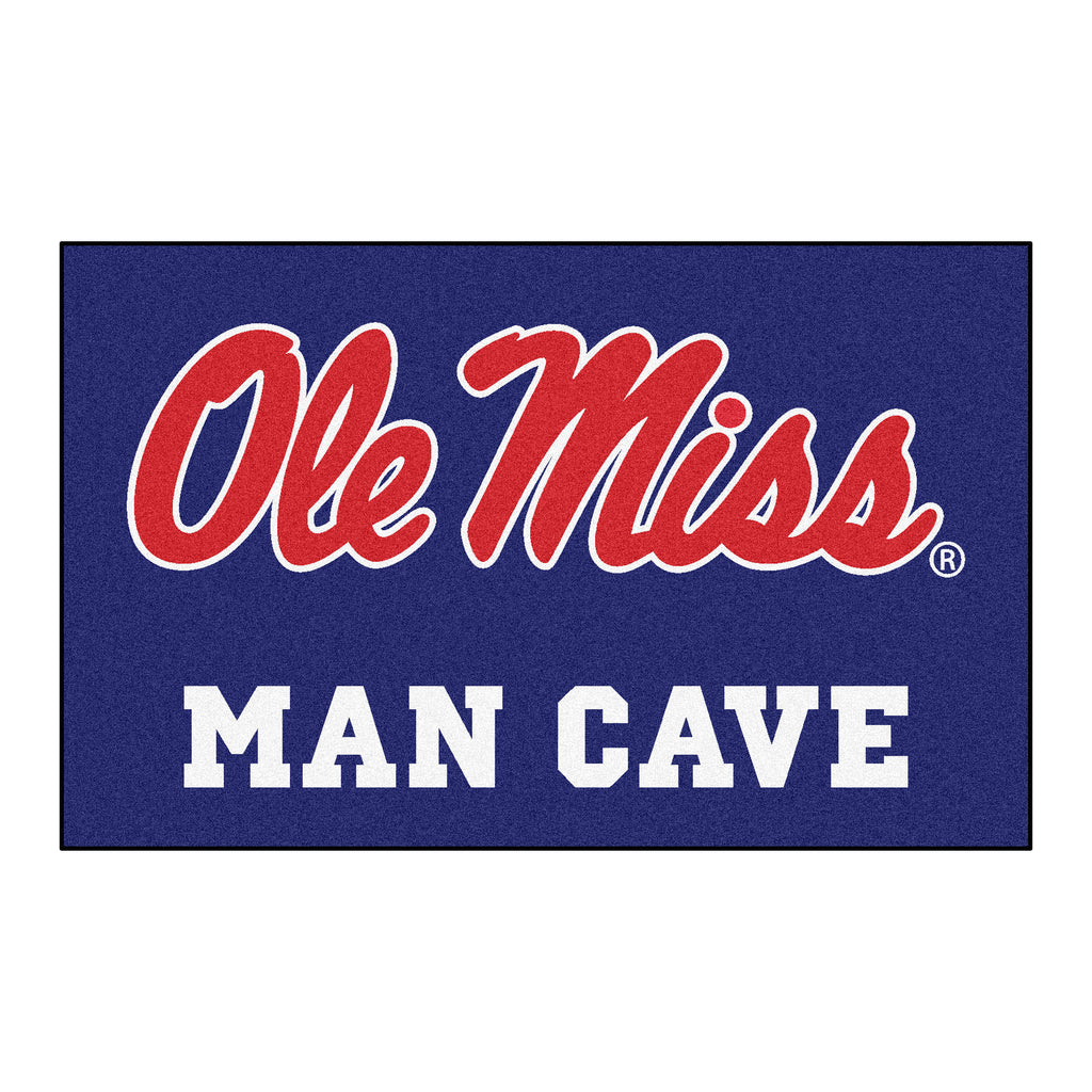 Ole Miss Man Cave UltiMat 5'x8' Rug
