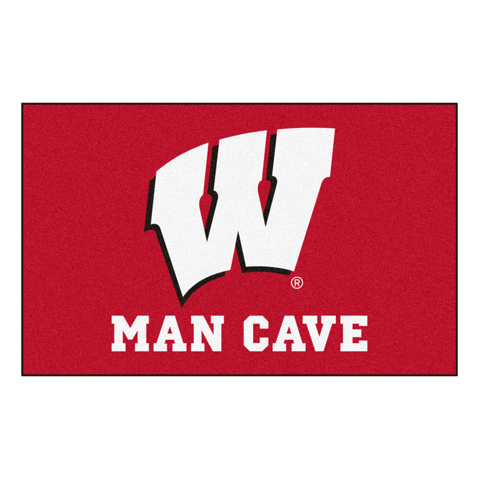 Wisconsin Man Cave UltiMat 5'x8' Rug