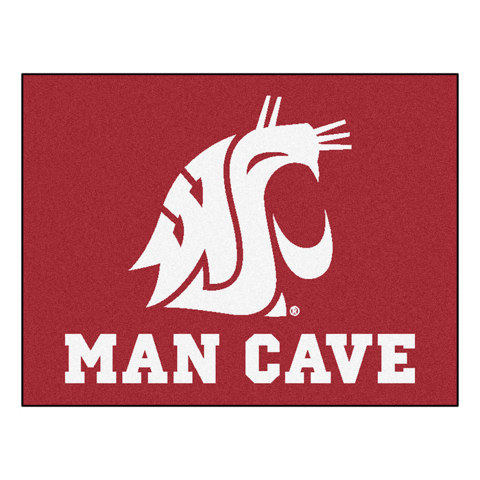 "Washington State Man Cave All-Star Mat 33.75""x42.5"""