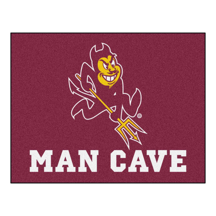 "Arizona State Man Cave All-Star Mat 33.75""x42.5"" - Fan Cave Rugs"