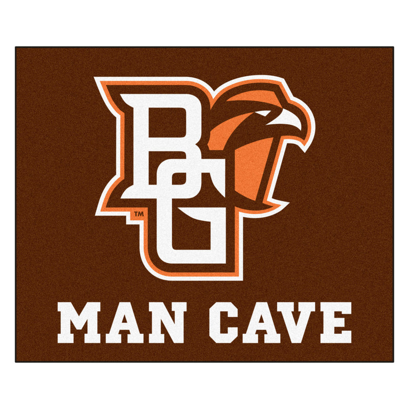 "Bowling Green Man Cave Tailgater Rug 60""x72"""