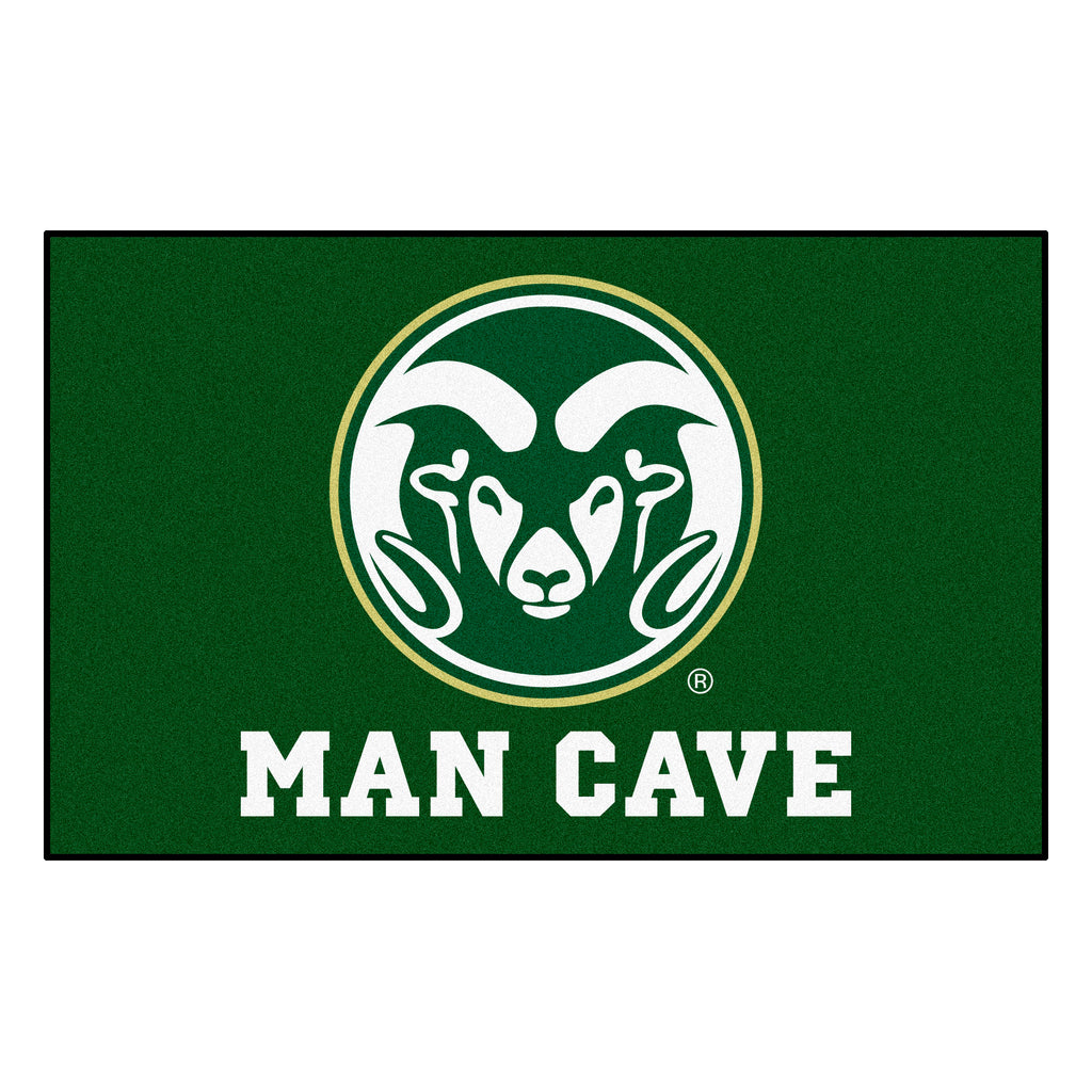 Colorado State Man Cave UltiMat 5'x8' Rug