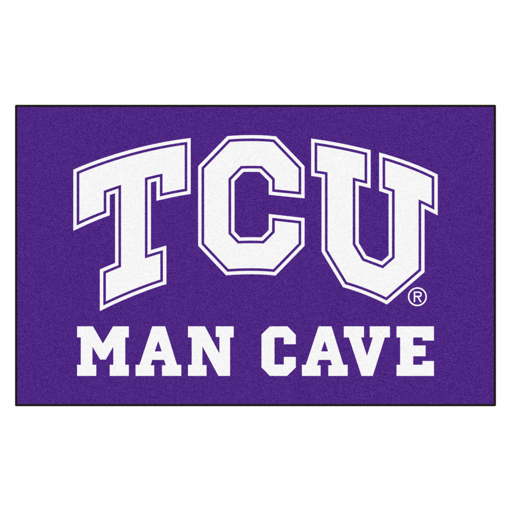 TCU Man Cave UltiMat 5'x8' Rug