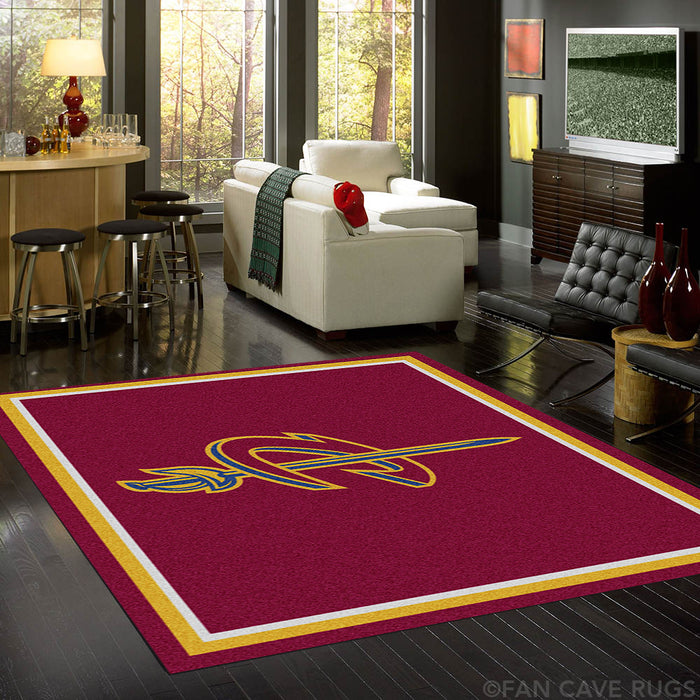 NBA - Cleveland Cavaliers Rug  8'x10' - Fan Cave Rugs