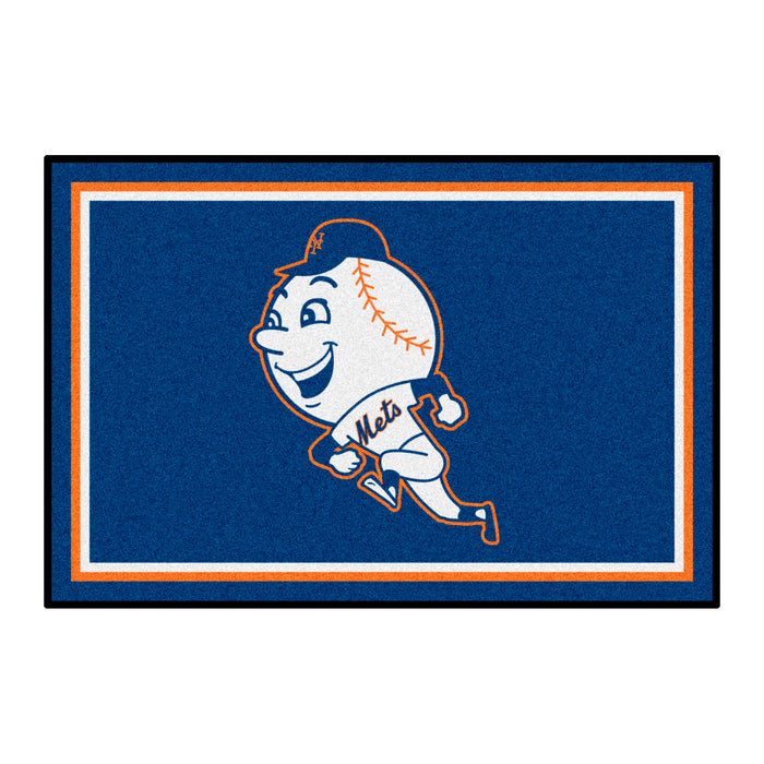 Retro Collection - 2014 New York Mets 4x6 Rug