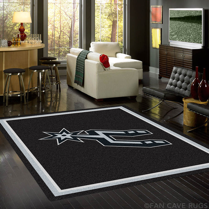 NBA - San Antonio Spurs Rug  8'x10'