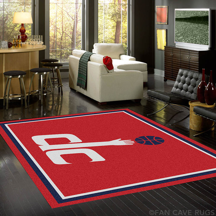 NBA - Washington Wizards Rug  8'x10'