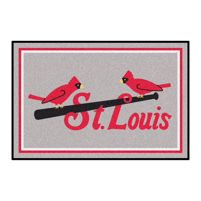 Retro Collection - 1930 St. Louis Cardinals 4x6 Rug
