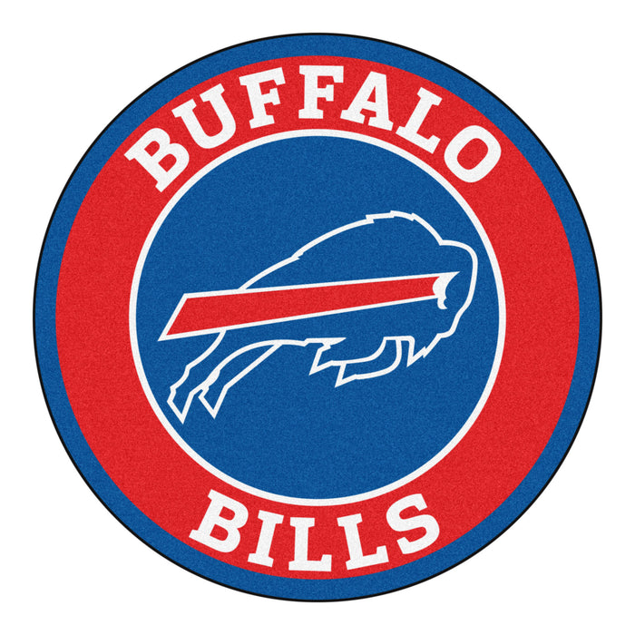 "NFL - Buffalo Bills Roundel Mat 27"" diameter"