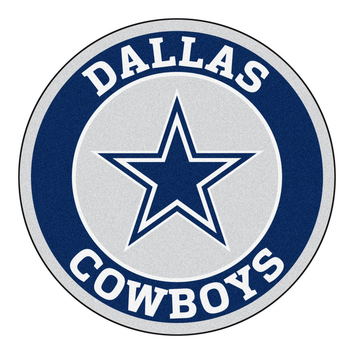"NFL - Dallas Cowboys Roundel Mat 27"" diameter"
