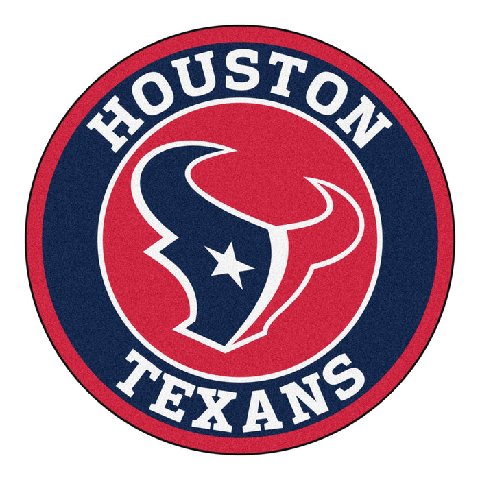 "NFL - Houston Texans Roundel Mat 27"" diameter"