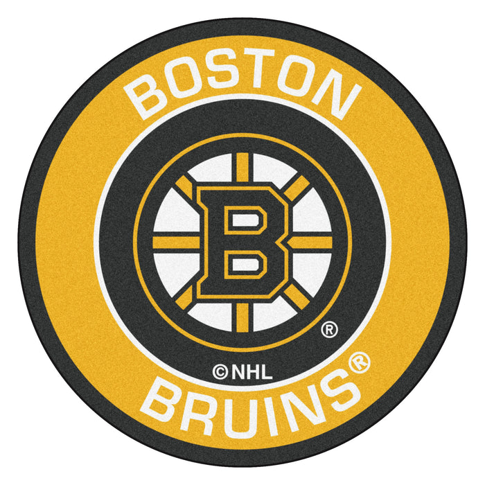 "NHL - Boston Bruins Roundel Mat 27"" diameter"