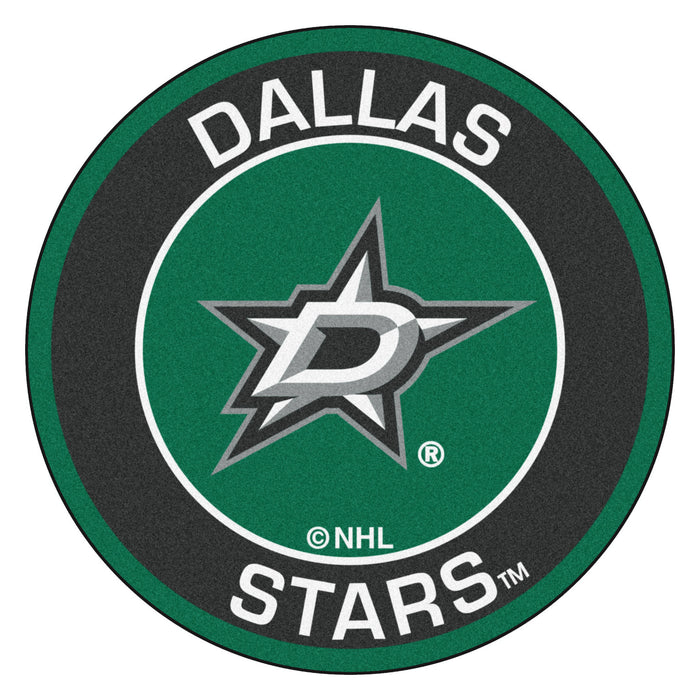"NHL - Dallas Stars Roundel Mat 27"" diameter"