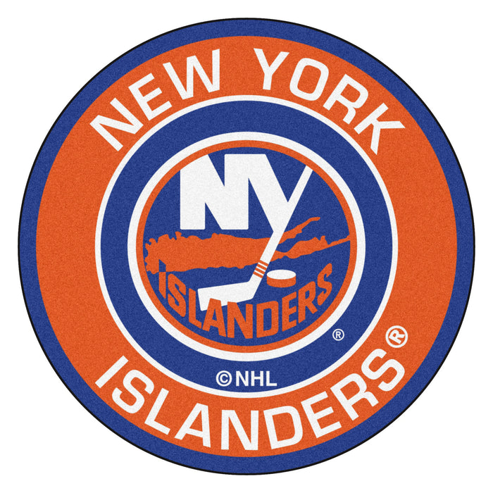 "NHL - New York Islanders Roundel Mat 27"" diameter"