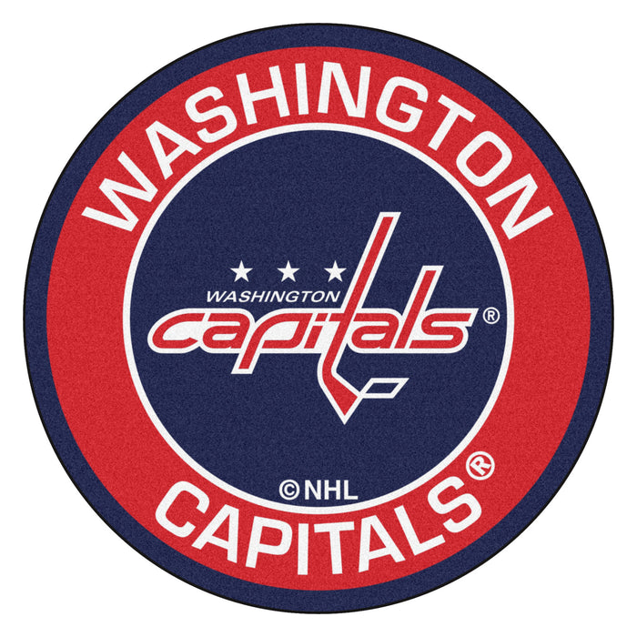 "NHL - Washington Capitals Roundel Mat 27"" diameter"