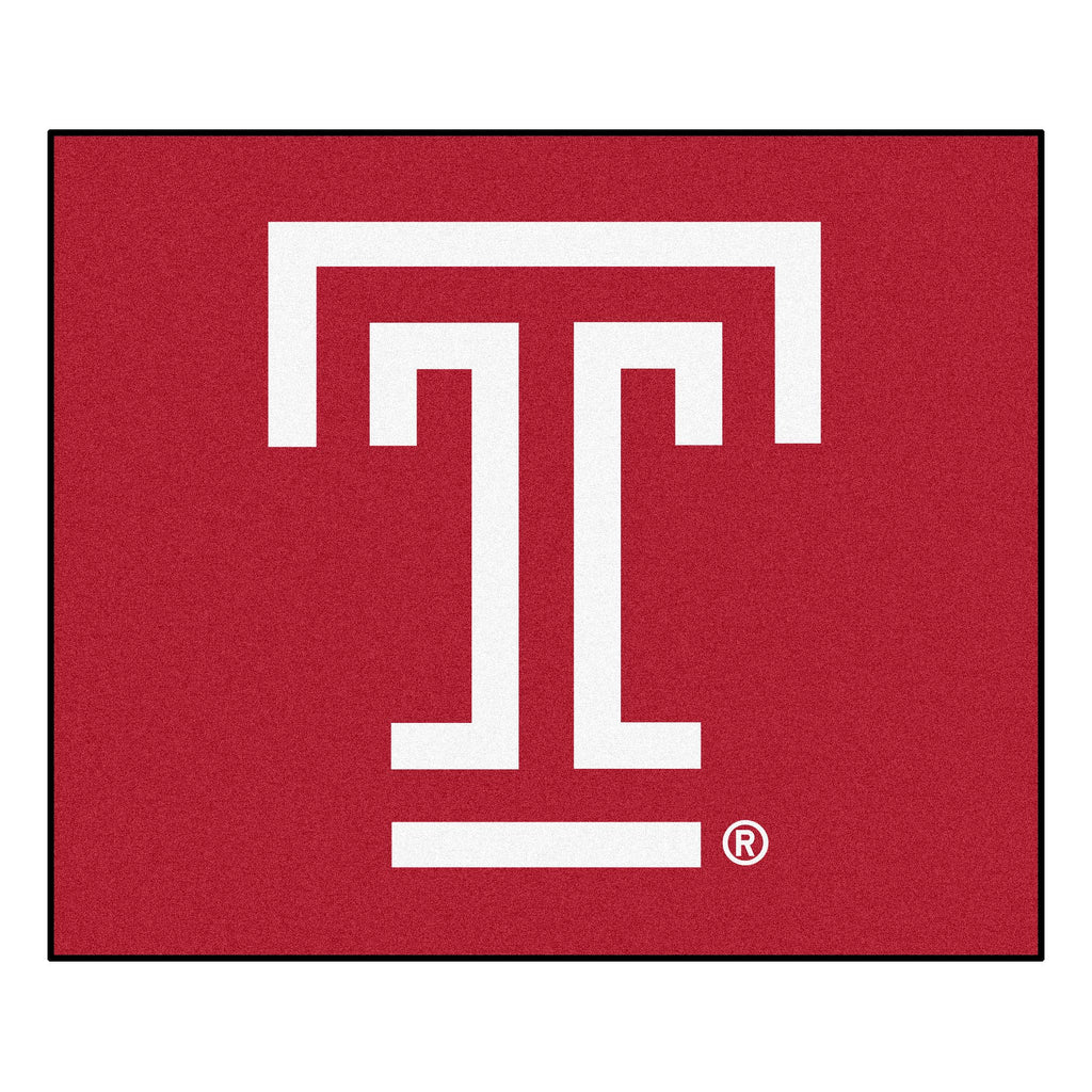Temple Tailgater Rug 5'x6'