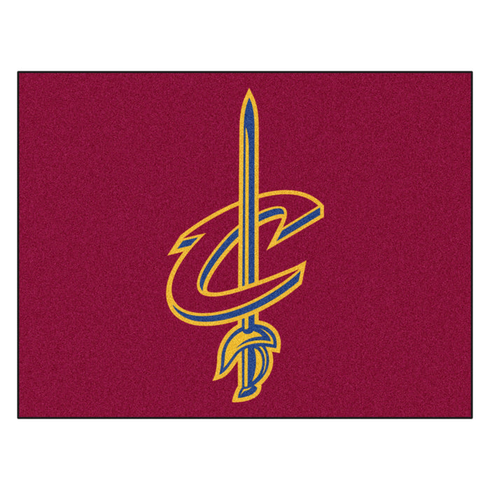 "NBA - Cleveland Cavaliers All-Star Mat 33.75""x42.5"" - Fan Cave Rugs"