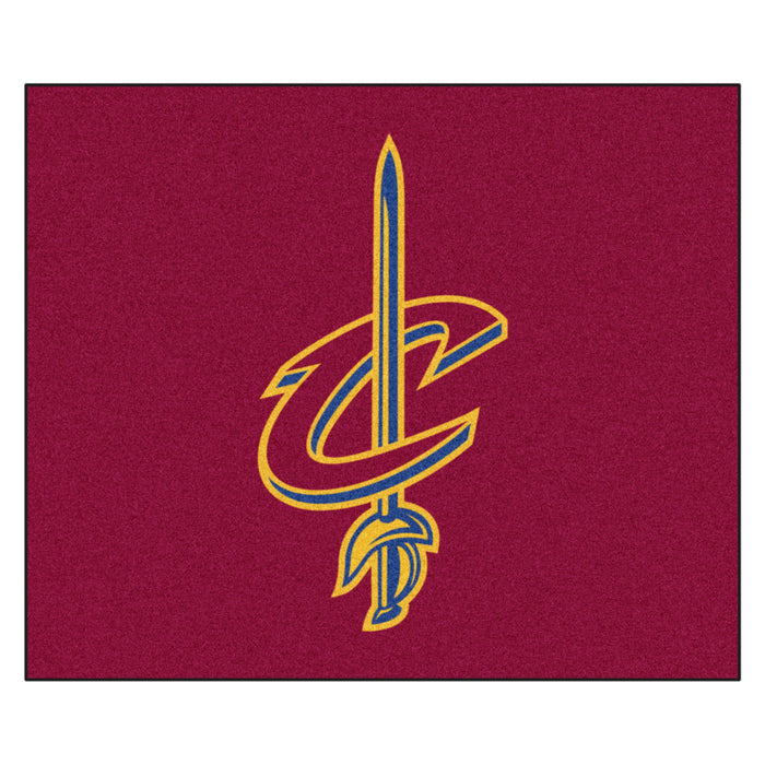 NBA - Cleveland Cavaliers Tailgater Rug 5'x6' - Fan Cave Rugs
