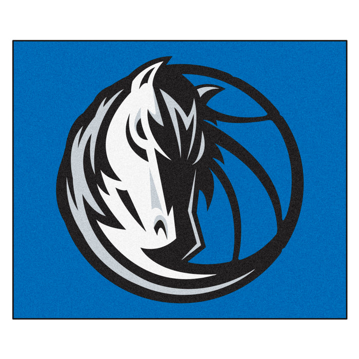 NBA - Dallas Mavericks Tailgater Rug 5'x6' - Fan Cave Rugs