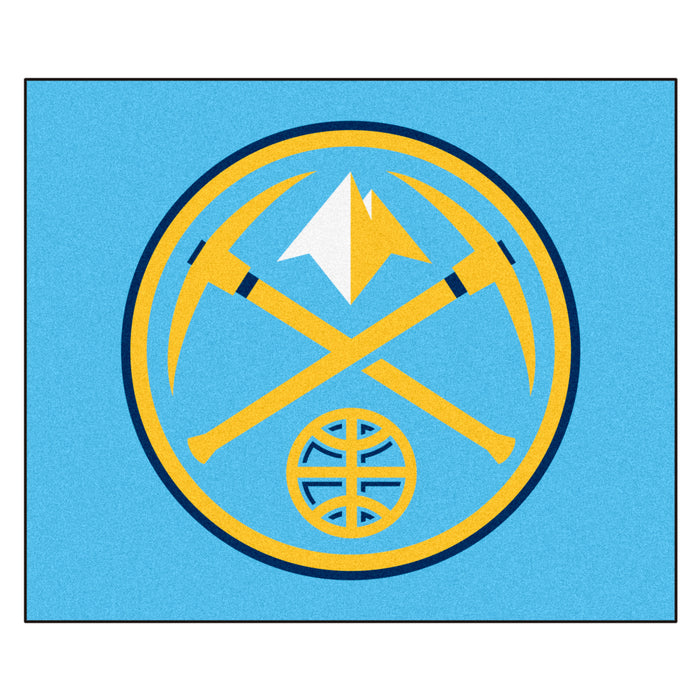 NBA - Denver Nuggets Tailgater Rug 5'x6' - Fan Cave Rugs