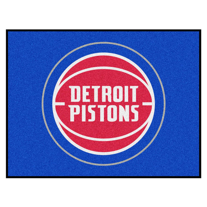 "NBA - Detroit Pistons All-Star Mat 33.75""x42.5"" - Fan Cave Rugs"