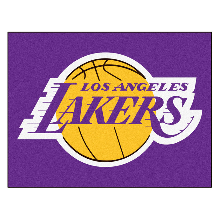 "NBA - Los Angeles Lakers All-Star Mat 33.75""x42.5"" - Fan Cave Rugs"