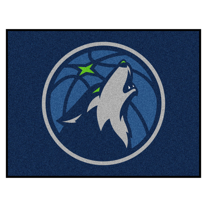 "NBA - Minnesota Timberwolves All-Star Mat 33.75""x42.5"" - Fan Cave Rugs"