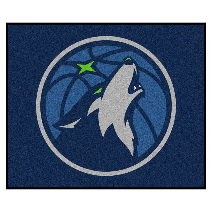 NBA - Minnesota Timberwolves Tailgater Rug 5'x6' - Fan Cave Rugs