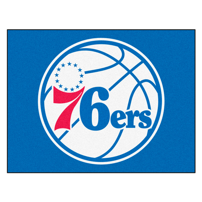 "NBA - Philadelphia 76ers All-Star Mat 33.75""x42.5"""