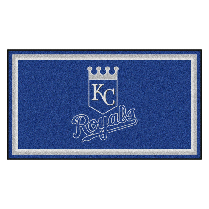 "MLB - Kansas City Royals 3x5 Rug 36""x 60"""
