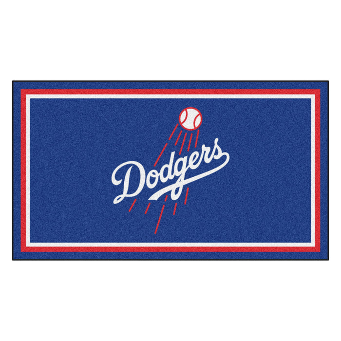 "MLB - Los Angeles Dodgers 3x5 Rug 36""x 60"""