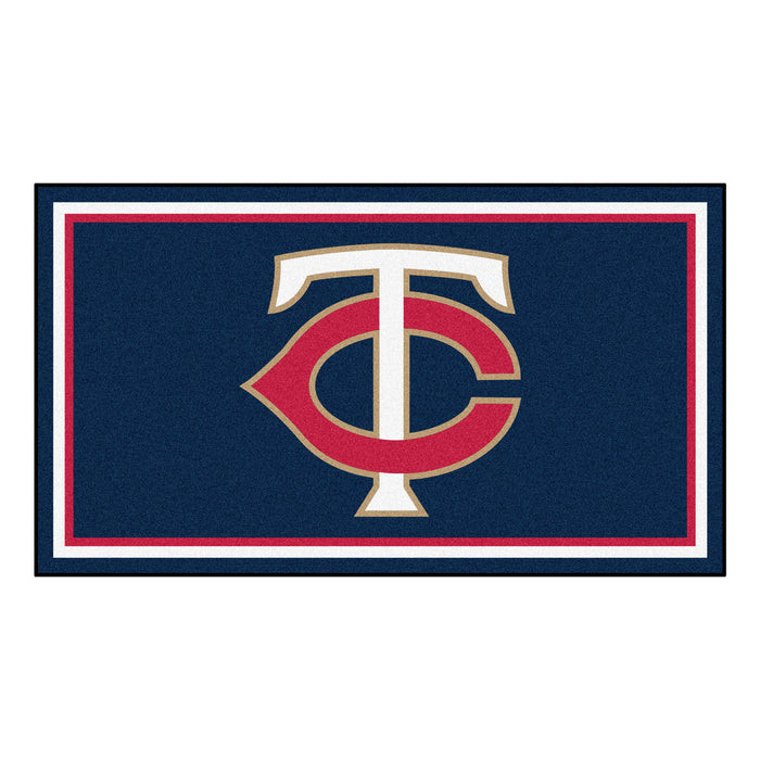 "MLB - Minnesota Twins 3x5 Rug 36""x 60"""
