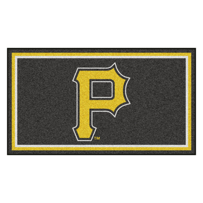 "MLB - Pittsburgh Pirates 3x5 Rug 36""x 60"""