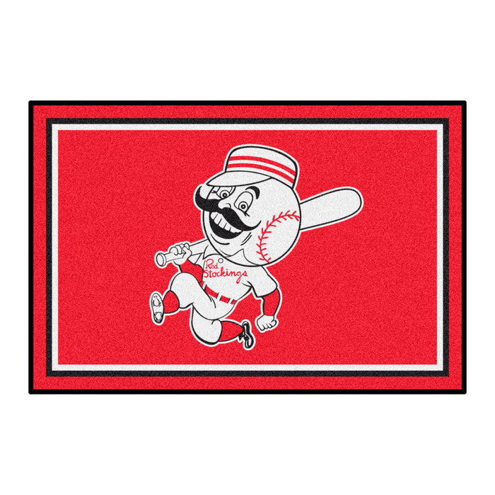 Retro Collection - 1967 Cincinatti Reds 4x6 Rug
