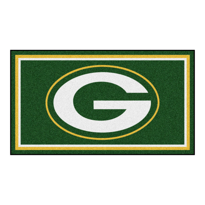 "NFL - Green Bay Packers 3x5 Rug 36""x 60"""