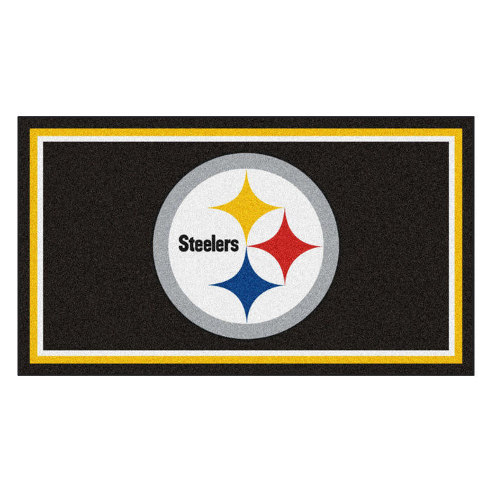 "NFL - Pittsburgh Steelers 3x5 Rug 36""x 60"""