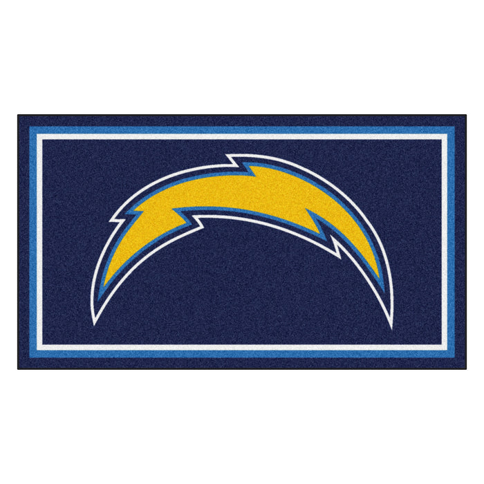"NFL - Los Angeles Chargers 3x5 Rug 36""x 60"""